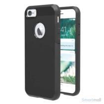 solidt-hybrid-tpu-beskyttelsescover-til-iphone-7-sort