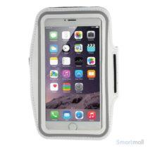 Sports løbearmbånd m.touch vindue til iPhone 7 Plus/6S Plus - Hvid