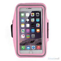 Sports løbearmbånd m.touch vindue til iPhone 7 Plus/6S Plus - Pink