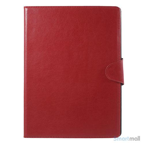"""Crazy Horse smart lædercover m/stand-funktion til iPad Pro 12.9"""" - Rød"""