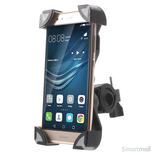 Cykelholder til b.la. iPhone/Samsung/HTC/Mfl. Max 180x92mm - Grå