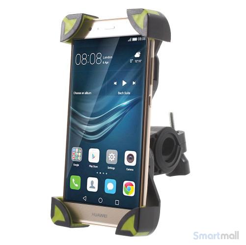 Cykelholder til b.la. iPhone/Samsung/HTC/Mfl. Max 180x92mm - Grøn