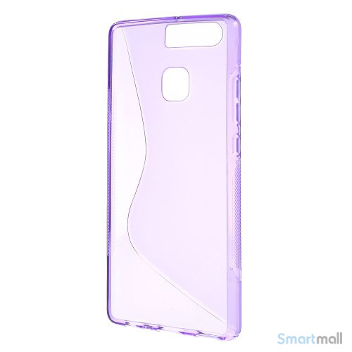 Huawei P9 Blødt TPU/silikone cover - Lilla
