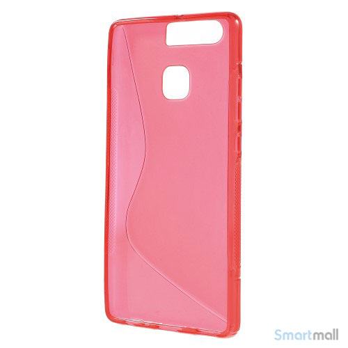 Huawei P9 Blødt TPU/silikone cover - Rød