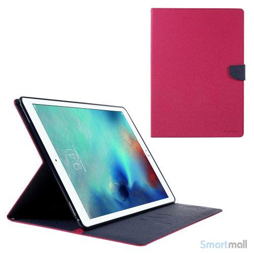 "MERCURY GOOSPERY lædercover m/stand & pung til iPad Pro 12.9"" - Rose"