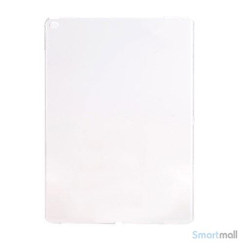 Simpelt iPad Pro plastik-cover i hård plast & blank overflade - Transparent