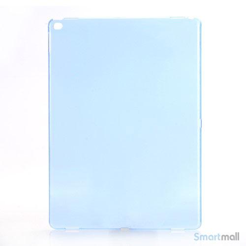 Simpelt iPad Pro plastik-cover i hård plast & blank overflade - Blå
