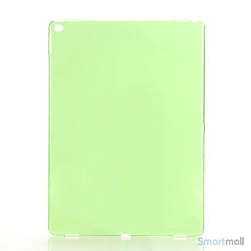 Simpelt iPad Pro plastik-cover i hård plast & blank overflade - Grøn
