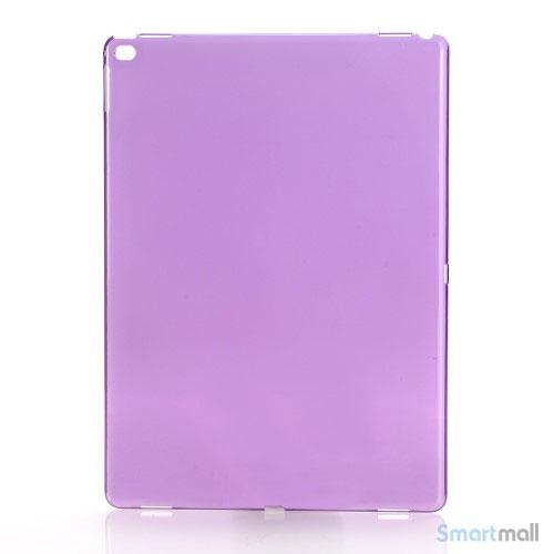 Simpelt iPad Pro plastik-cover i hård plast & blank overflade - Lilla