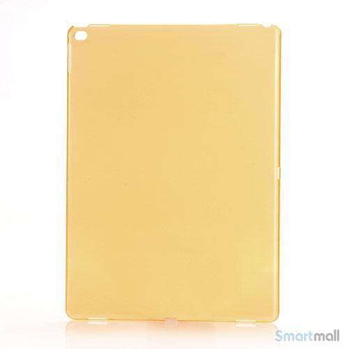 Simpelt iPad Pro plastik-cover i hård plast & blank overflade - Orange