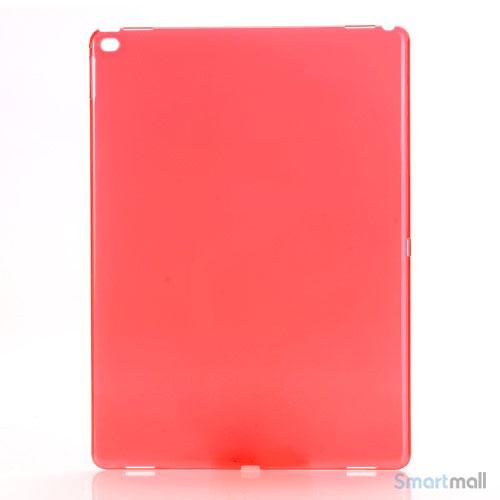 Simpelt iPad Pro plastik-cover i hård plast & blank overflade - Rød