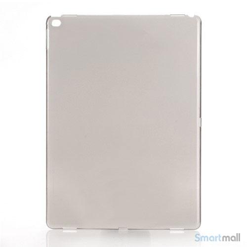 Simpelt iPad Pro plastik-cover i hård plast & blank overflade - Sort