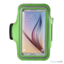 Smart løbearmbånd til Samsung Galaxy S6/S6 Edge/S7 - Grøn