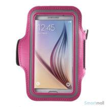 Smart løbearmbånd til Samsung Galaxy S6/S6 Edge/S7 - Rose