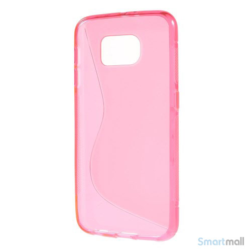 TPU S-formet silikone cover til Samsung Galaxy S6 G920 - Rose