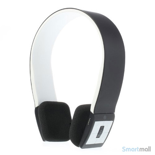 Trådløse bluetooth høretelefoner i flot design m/mikrofon - Sort