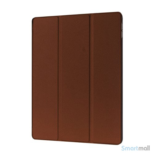 "iPad Pro 12.9"" smart case cover m/tri-fold-stand - Brun"