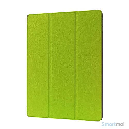 "iPad Pro 12.9"" smart case cover m/tri-fold-stand - Grøn"
