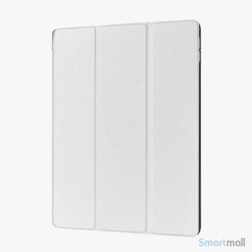 "iPad Pro 12.9"" smart case cover m/tri-fold-stand - Hvid"