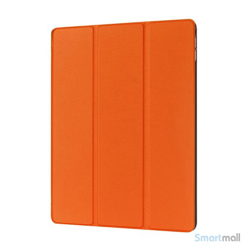 "iPad Pro 12.9"" smart case cover m/tri-fold-stand - Orange"