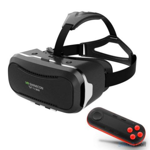 Shinecon 2.0 VR brille - Sort