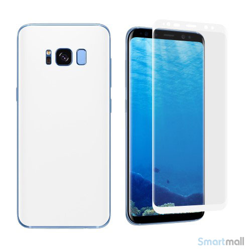 Angibabe for- og bagside beskyttende film til Samsung Galaxy S8
