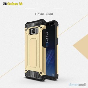 Armor Guard cover I TPU materiale til Samsung Galaxy S8 – Guldfarve