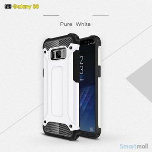 Armor Guard cover I TPU materiale til Samsung Galaxy S8 – Hvid