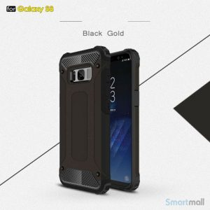 Armor Guard cover I TPU materiale til Samsung Galaxy S8 – Sort