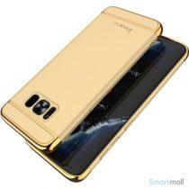 Effektivt IPAKY hardcase-cover til Samsung Galaxy S8 – Guldfarve