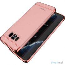 Effektivt IPAKY hardcase-cover til Samsung Galaxy S8 – Rosafarve