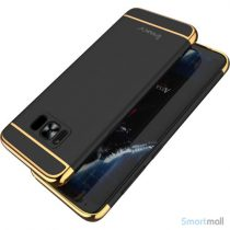 Effektivt IPAKY hardcase-cover til Samsung Galaxy S8 – Sort