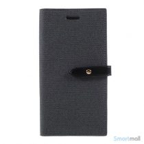 Feminin læderpung fra MERCURY GOOSPERY til iPhone X / 10 - Sort