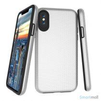 TPU / silikone cover med shock absorbering til iPhone X / 10 - Grå